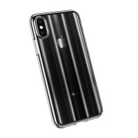 Чехол Baseus Aurora Series Transparent Black для iPhone X/XS